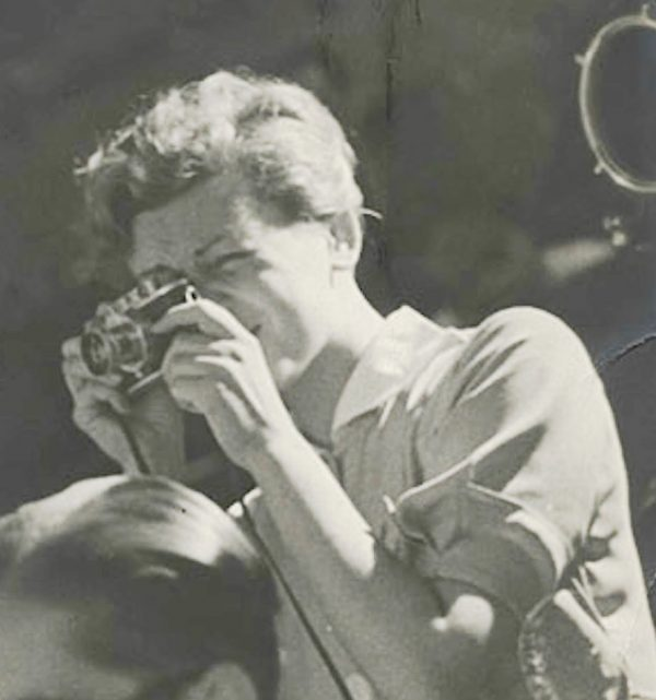 Gerda Taro, Spanish Civil war photographer.