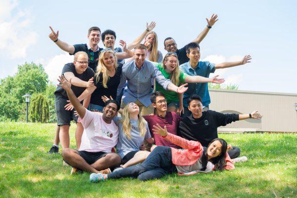 Wonderful student diversity at University of Hartford.