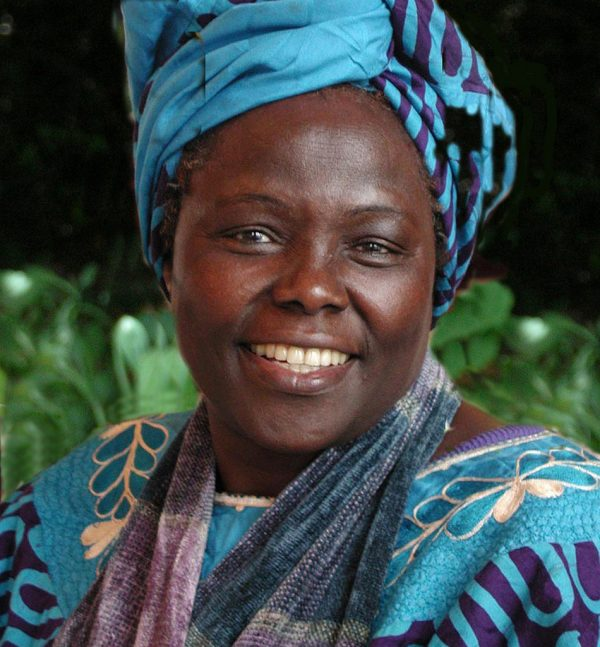 Wangari Maathai, the founder of the Green Belt Movement