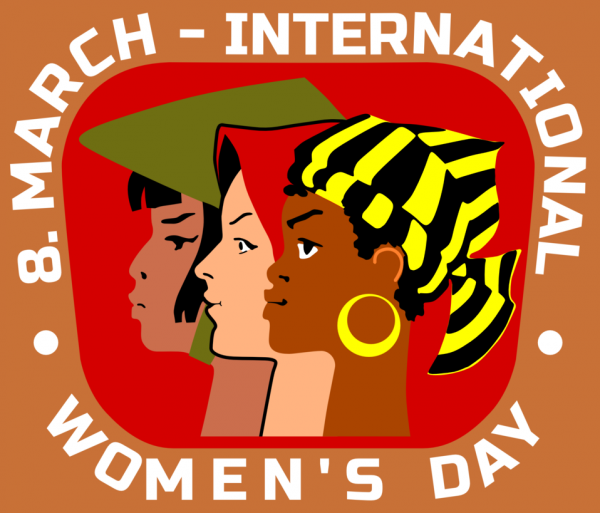 International women's day is celebrated annually on the 8th March.