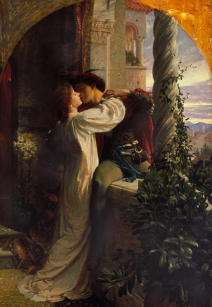 The famous tragedy of Romeo and Juliet.
