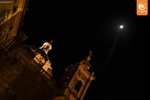Moonlight over Senglea.