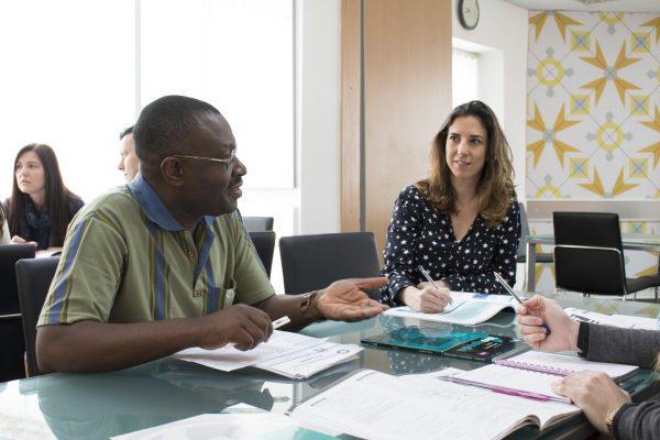 Discussing current topics at EC Malta 30+.