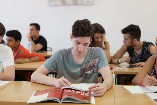 One of our Young Learners studying English in EC Malta.