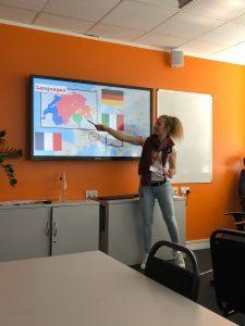 Студенты ЕС Лондон прослушали презентацию о Швейцарии