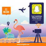 émission de téléréalité sur Snapchat arrive à l'EC Miami