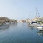 Vista di Birgu a Malta
