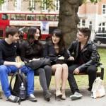 Studenti a Londra