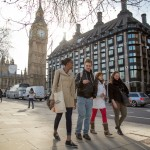 Studenti visitano Londra