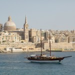 Vista della Valletta a Malta