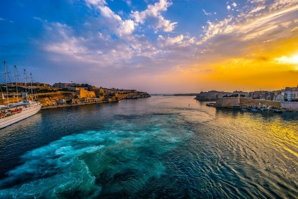 Maltese blue Sea