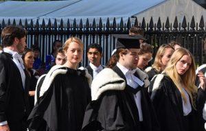 Studenti di inglese a Cambridge