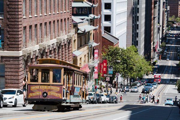 Prendi il caratteristico tram