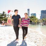 Visita Street Beach a Brisbane