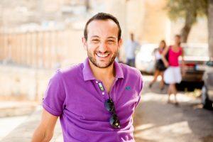 EC English student enjoying the sun in Malta