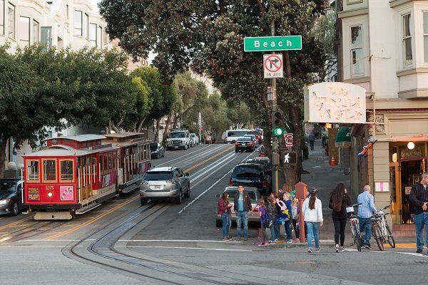 Prendi il famoso Tram di San Francisco