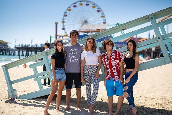 Visita le spiagge di LA