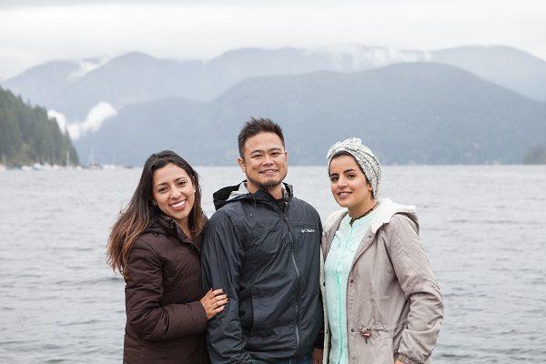 Fai tante amicizie a Vancouver