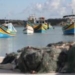 barcos en Marsaxlokk