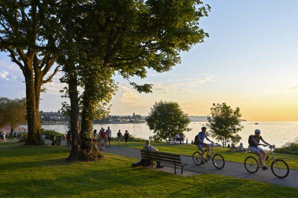 ¡En el verano podrás realizar recorridos alrededor de la ciudad en bicicleta!