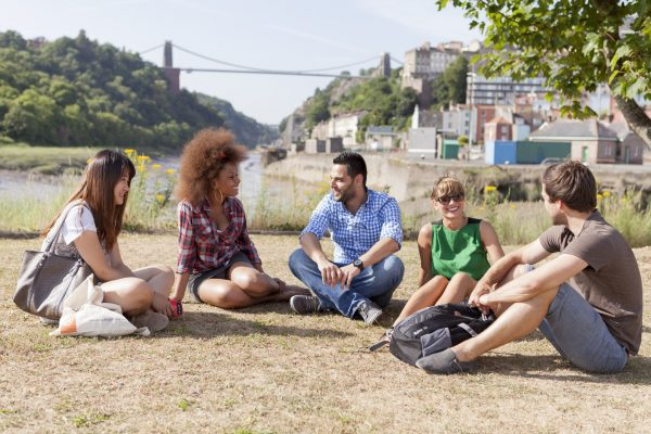 Our EC 30+ students learning English in Bristol and enjoying the city.