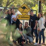 Estudiantes en Australia