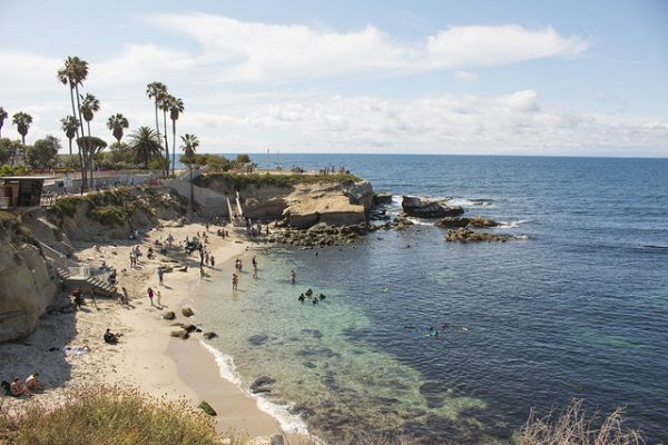 Hermosas playas de San Diego
