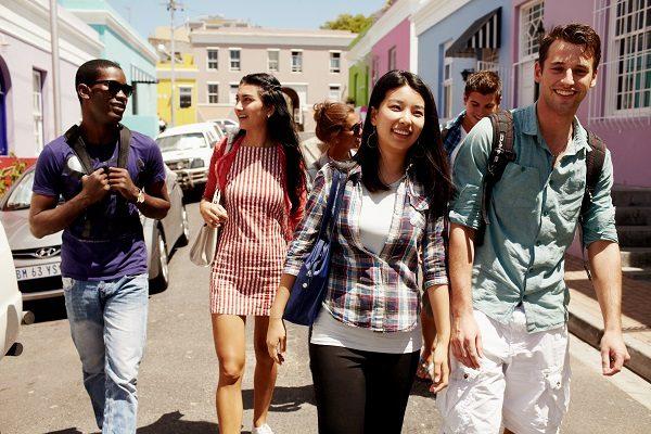 Estudiantes En Bo Kaap