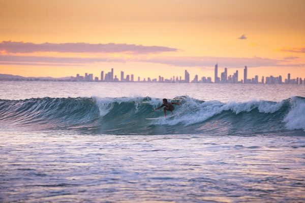 Bellas playas de Gold Coast