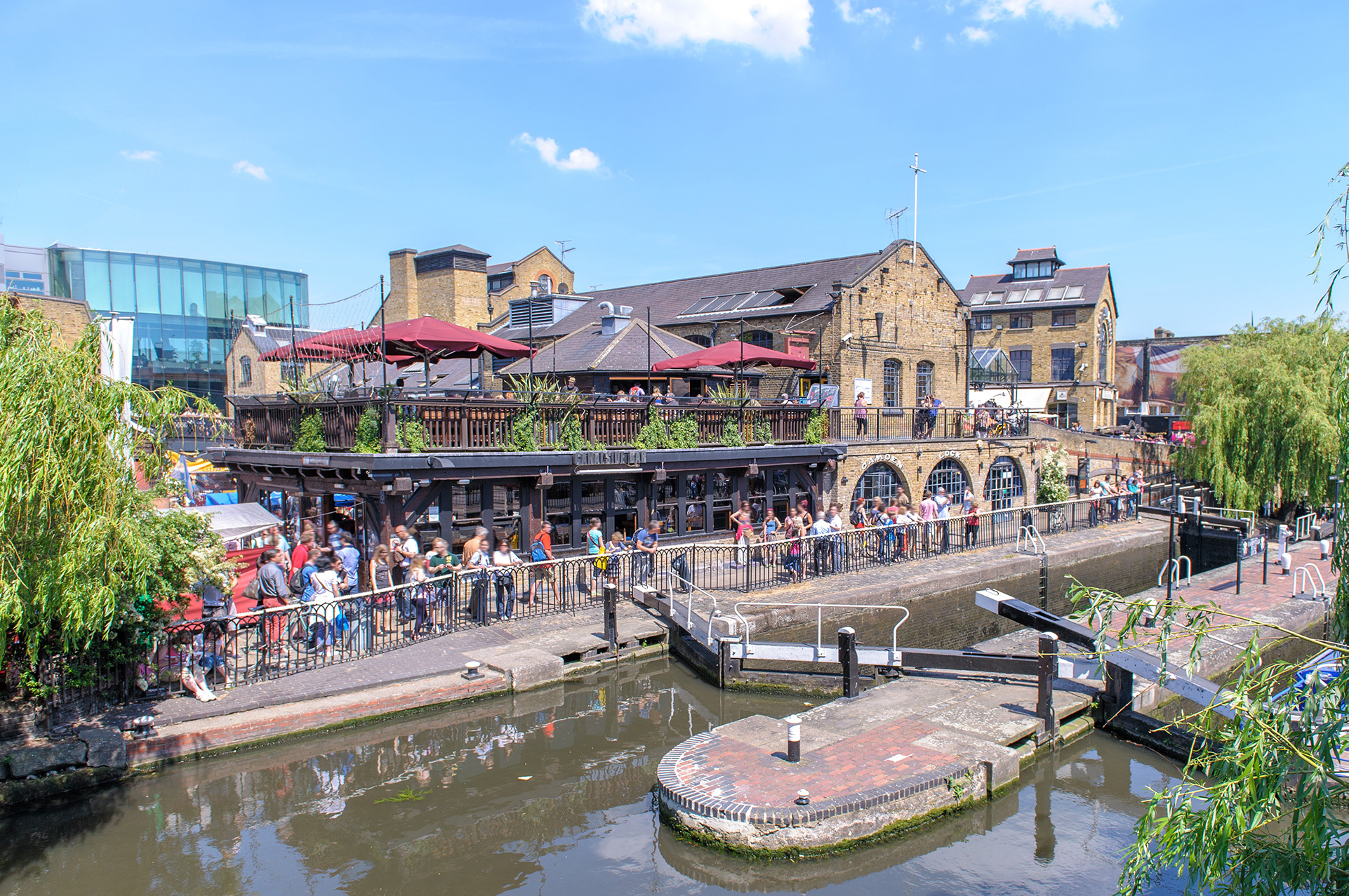 Camden Market, Camden Town, Londra
