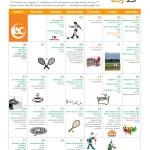 September 2015 Activity Calendar