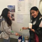 EC Washington English Language Center students donate and write their guess!