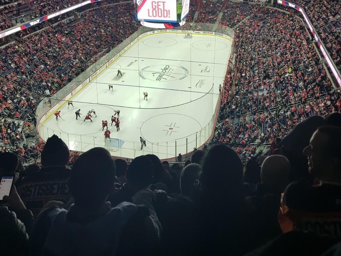 Hockey at Capital One