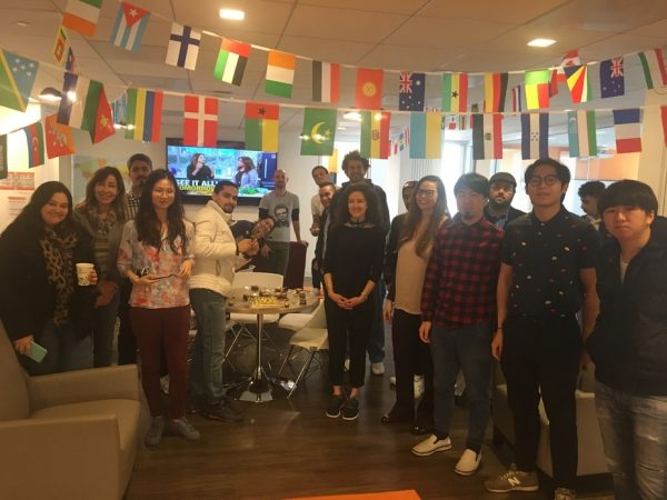 English School Students