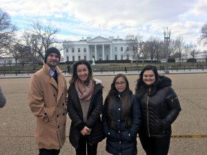 New students at EC Washington DC