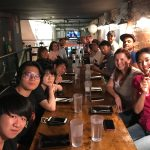 Korean Dinner with Students