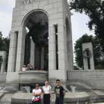 New Students at WWII Memorial