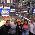 EC students at Washington Wizards