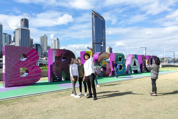 Estude inglês em Brisbane