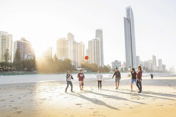 Aproveite as praias de Gold Coast