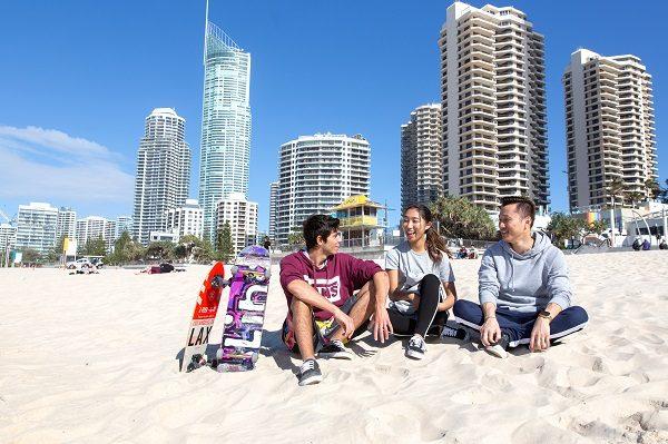 Gold Coast tem praias incríveis