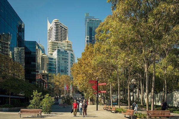 Sydney tem um clima agradável