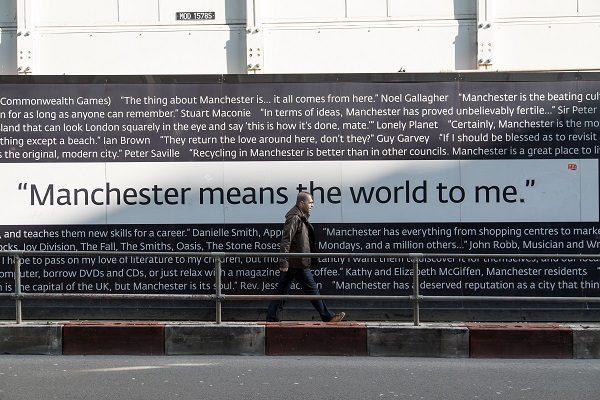 Bandas famosas nasceram em Manchester