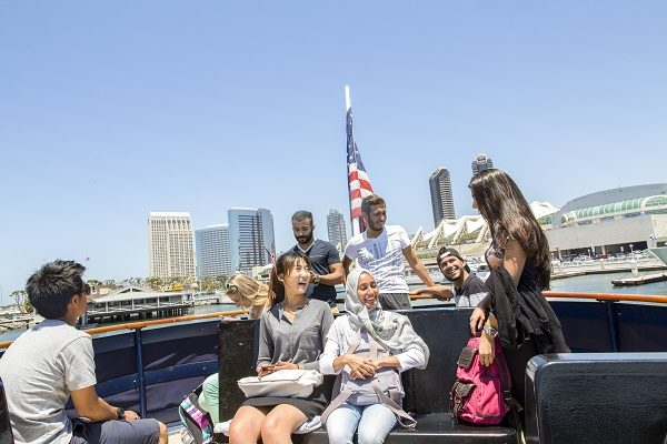 Estudantes em San Diego