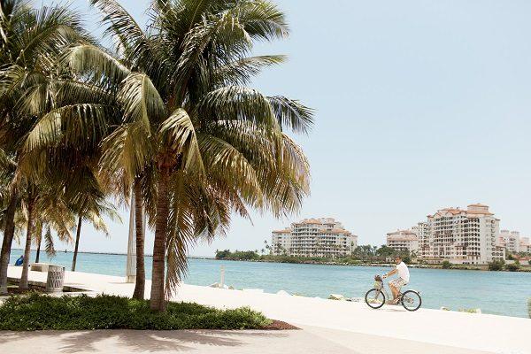 As praias de Miami