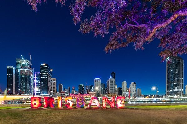 Letreiro de Brisbane