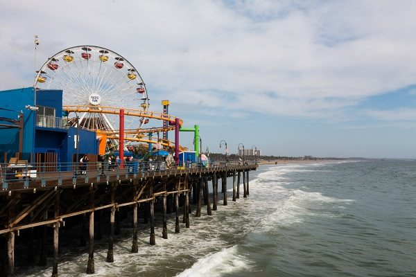 Vista de Santa Monica