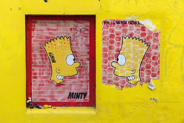 Street art em Brighton