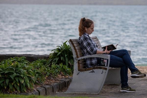 Estudante em Auckland