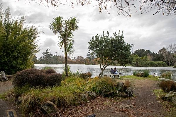 Parque de Auckland